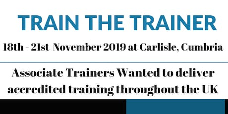 Train the Trainer 2019 tickets