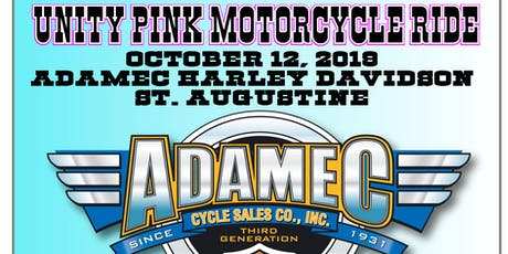 UNITY PINK MOTORCYCLE RIDE & EVENT tickets