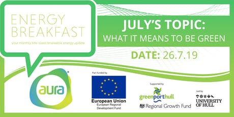 What Does It Mean To Be Green? Find out at the Energy Breakfast... tickets