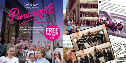 Pineapple Dance Studios Open Day 2019