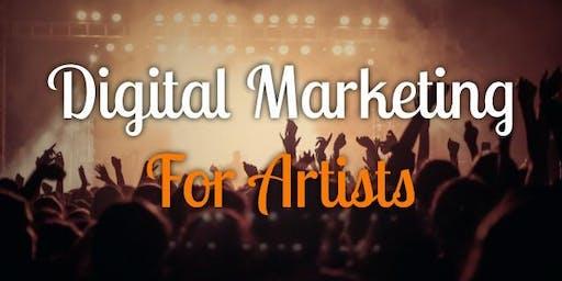 MisFEST Digital Marketing for Artists Workshop