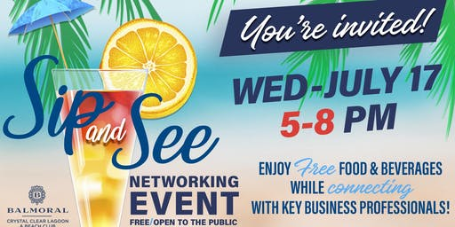 Sip and See Networking Event