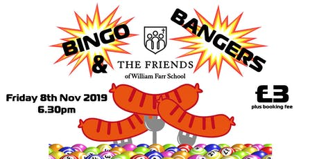 Bingo and Bangers tickets