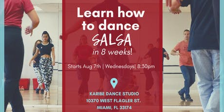 Learn how to dance Salsa in 8 Weeks! tickets