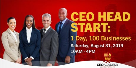 CEO Head Start: 1 Day, 100 Businesses tickets