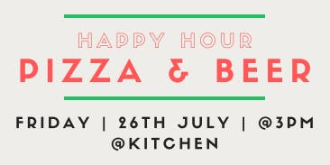 Pizza and Beer Happy Hour @ Regus Pembroke House