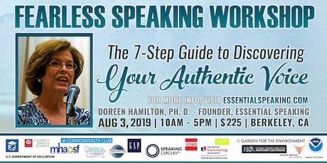 Fearless Speaking Workshop tickets