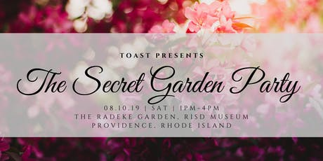 The Secret Garden Party - Presented by TOAST  tickets