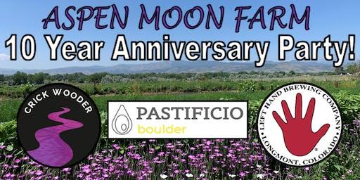 Aspen Moon Farm 10 Year Anniversary Party!