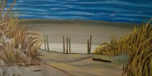 Combing The Beach
