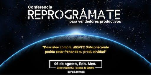 """Conferencia: """"REPROGRÁMATE"""" para Vendedores Productivos"""