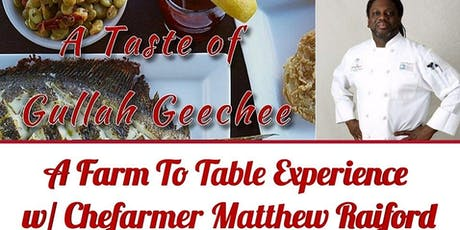A Taste Of Gullah Geechee tickets