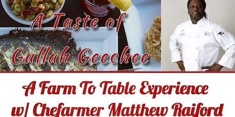 A Taste Of Gullah Geechee tickets