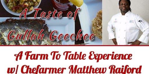 A Taste Of Gullah Geechee