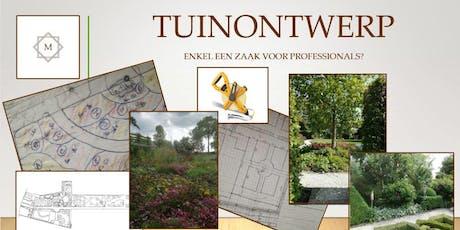 Workshop tuinontwerp voor doe-het-zelvers tickets