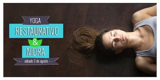 Sesión de Yoga Restaurativo & Yoga Nidra