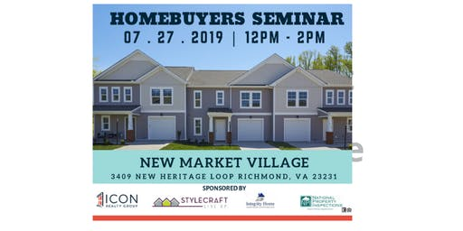 Homebuyers Seminar at New Market Village