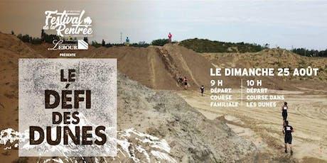 2e édition du Défi des Dunes de la Rentrée billets