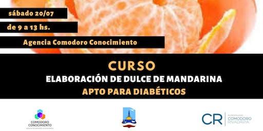 Curso: Elaboración de dulce de mandarina apto para diabéticos