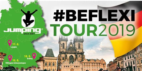 Jumping® Fitness #BEFLEXI Tour 2019 - 250 Trampoline -Erding Tickets
