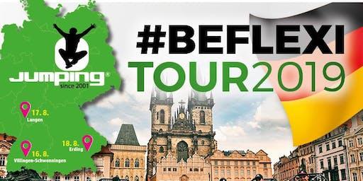 Jumping® Fitness #BEFLEXI Tour 2019 - 250 Trampoline -Erding