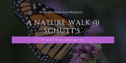 A Nature Walk with Seneca Park Zoo at Schutt's