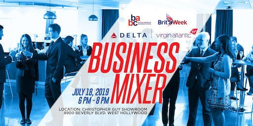 July 18th Business Mixer