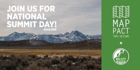 National Summit Day with Topo Designs (Boulder) tickets