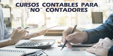 CURSO DE CONTABILIDAD PARA NO CONTADORES SEPTIEMBRE boletos