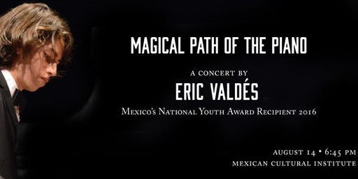 CONCERT: MAGICAL PATH OF THE PIANO WITH ERIC VALDES