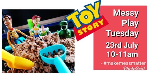 Toy Story Messy Play - Prestonpans