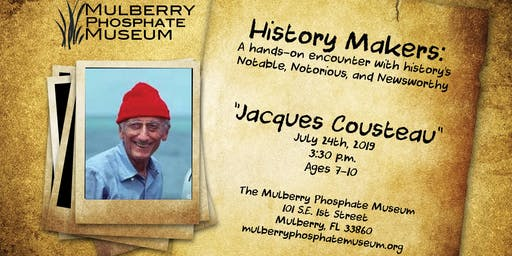 History Makers: Jacques Cousteau