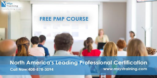 PMP (Project Management) Free Training Course in Memphis, TN