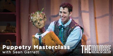 Puppetry Masterclass with Sean Garratt tickets