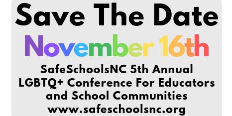 5th Annual LGBTQ+ Conference for Educators and School Communities