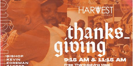 Thanksgiving at Harvest tickets