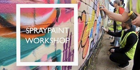 Spraypaint Workshop tickets
