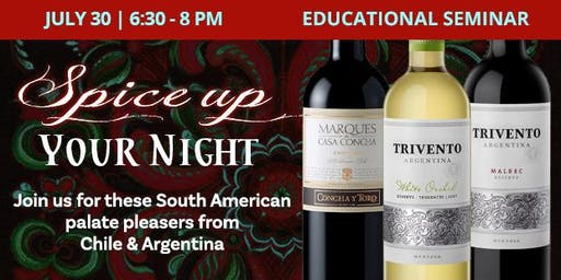Educational Seminar: Spice Up Your Night!