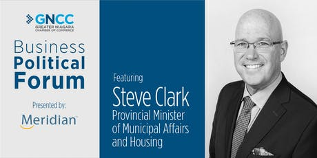 Business Political Forum Featuring Provincial Minister of Municipal Affairs and Housing tickets