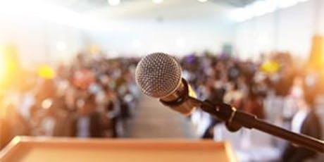 Youth Public Speaking Workshop tickets