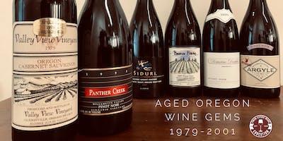 Aged Oregon Wine Gems: 1979 to 2001