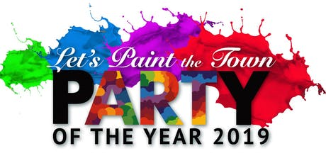 Let's Paint the Town: Party of the Year 2019 tickets