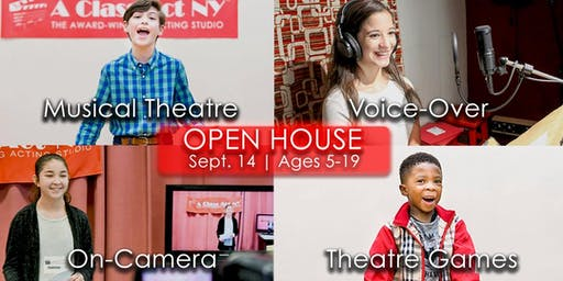 Fall Open House for Ages 5-19