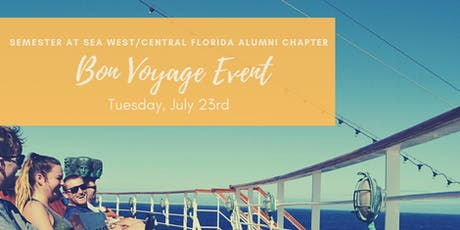 Semester at Sea - West/Central Florida Alumni Chapter Bon Voyage Event tickets