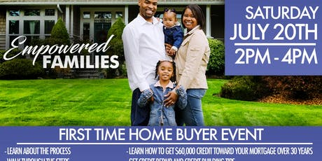 FIRST TIME HOME BUYER EVENT tickets