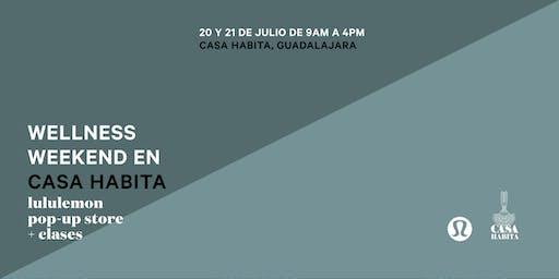 Casa Habita Wellness Weekend: WERA WORKOUT