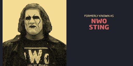 nWo Sting Meet & Greet Combo/WrestleCade FanFest 2019