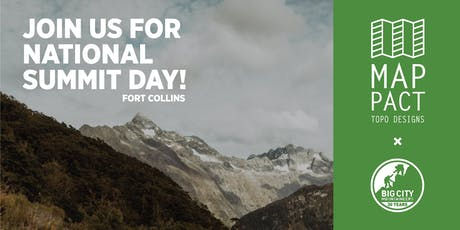 National Summit Day with Topo Designs (Fort Collins) tickets
