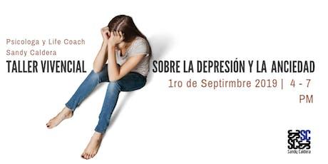 Taller vivencial sobre la depresión y la ansiedad entradas