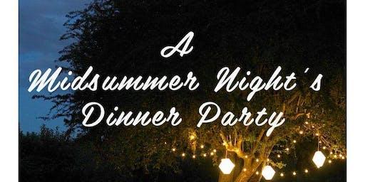 Midsummer Night's Dinner Party